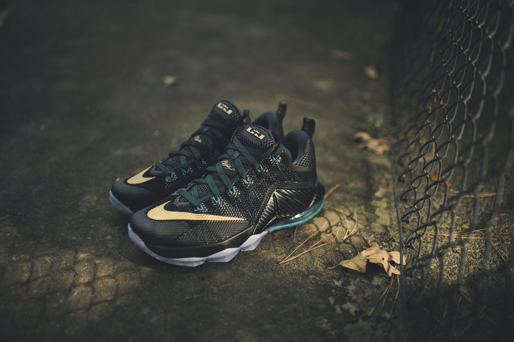 e7f435dab20910 A Hint of School Spirit On This Nike LeBron 12 Low