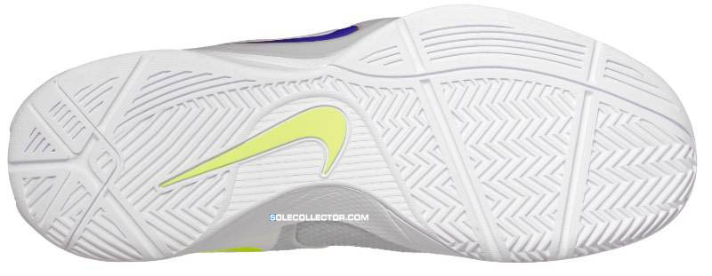 pretty nice 0ee95 bba84 Nike Zoom Hyperfuse 2011 White Metallic Luster Wolf Grey Volt 454136-100