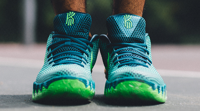 a65139835f83 Here s How the  Australia  Nike Kyrie 1s Look On-Feet