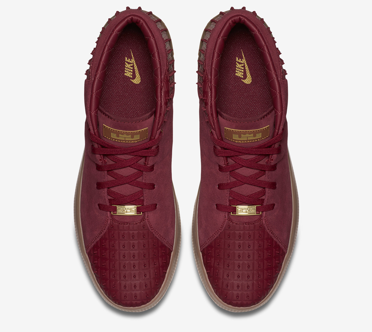 check out 022e7 762f5 Nike LeBron 13 NSW Lifestyle Release Date  11 12 15. Color  Team Red Metallic  Gold-Gum Medium Brown Style    806396-600. Price   130