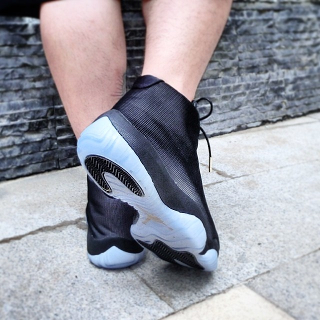 Air Jordan Future 3M Reflective Black On-Foot (2)