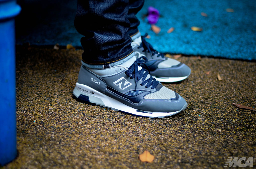 foshizzles in the New Balance 1500