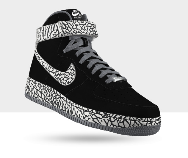 the latest c080a 7f270 Check out some examples below, and hit up Nike iD now to start creating  your very own elephant print Air Force 1 Premium.