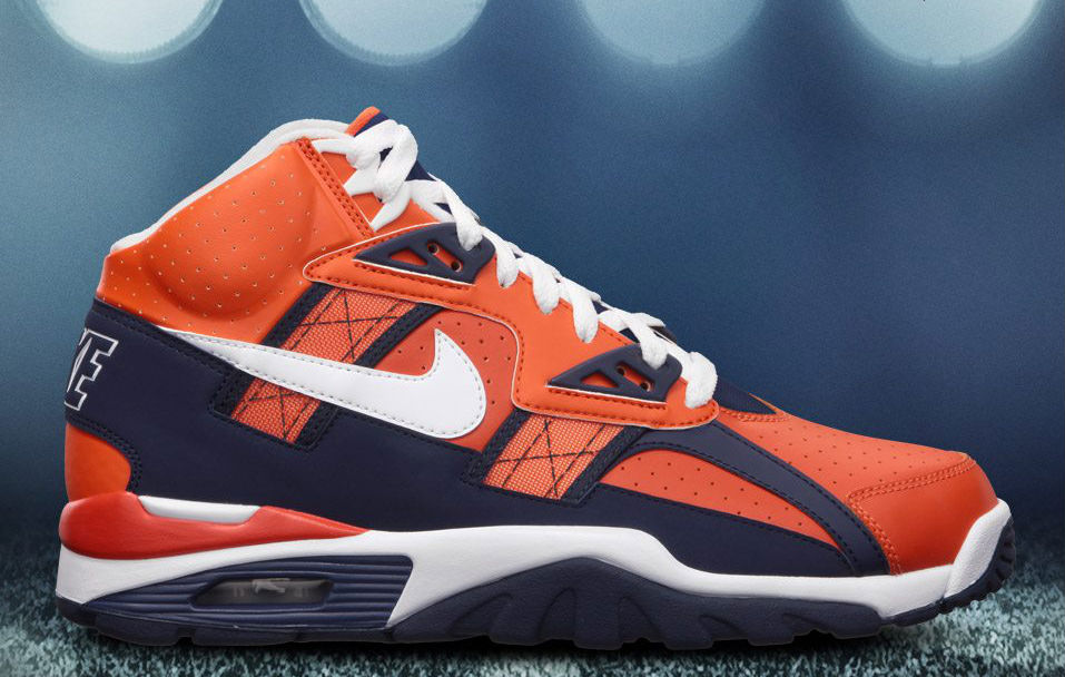 Brandon Richard's Top Ten Shoes Sneakers of 2012 - Nike Air Trainer SC High Denver Broncos