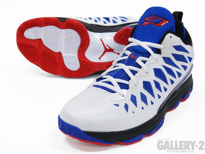 Jordan CP3.VI White Sport Red Black Game Royal 535807-103 (6)