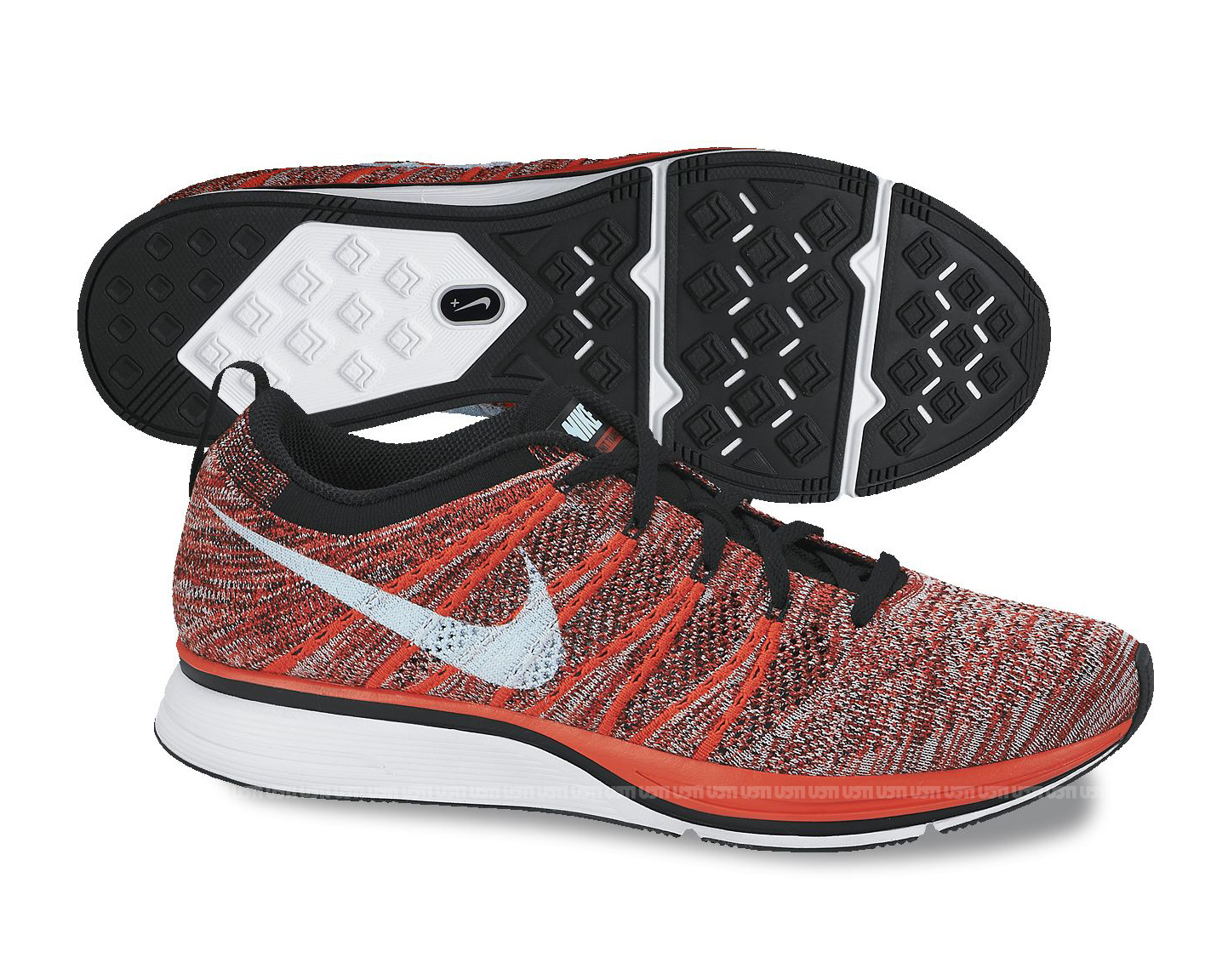 Nike Flyknit Trainer - Bright Crimson / Gym Red