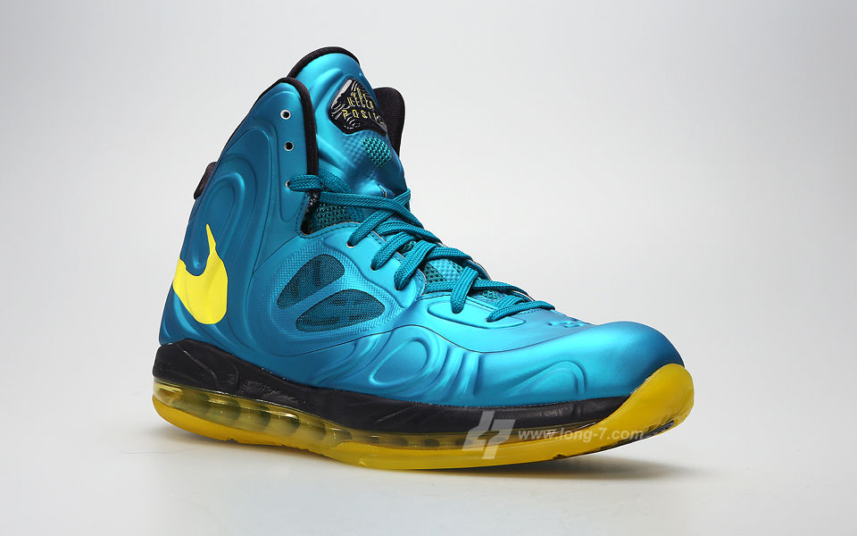Nike Air Max Hyperposite Teal Yellow 524862-303 (2)