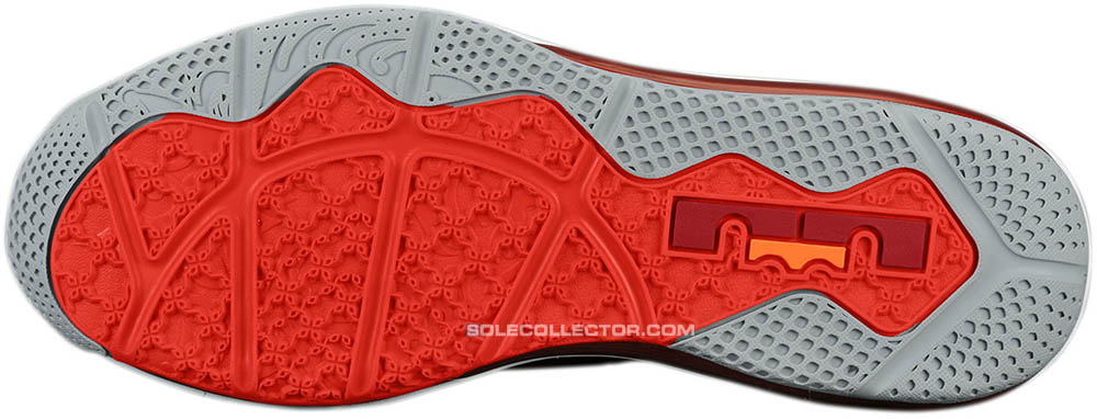 new style cd82f ff657 Nike LeBron 9 Low Team Red Challenge Red Wolf Grey 510811-600 (5)