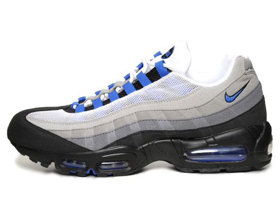 separation shoes d98aa 247c8 After seeing a release overseas, the  Blue Spark  Nike Air Max 95 will  finally make it s way to the states this June.