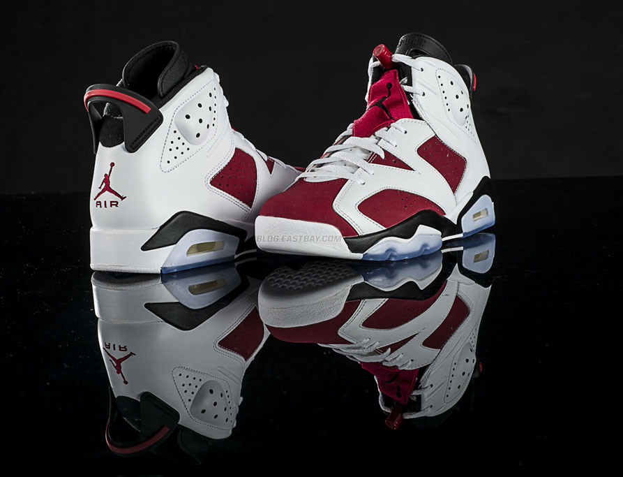 info for 37316 874f9 Air Jordan VI 6 Carmine Releasing at Eastbay