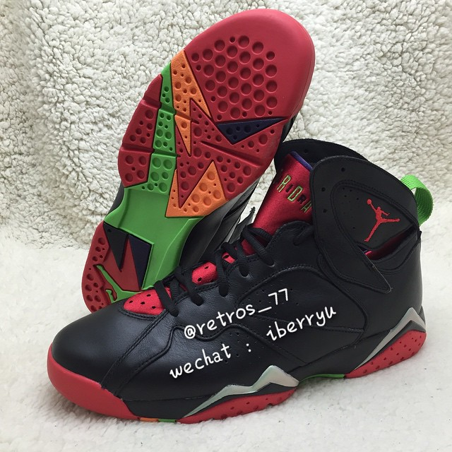 fb5da5ebe3f1 Here s Marvin the Martian s Air Jordan 7 On-Foot