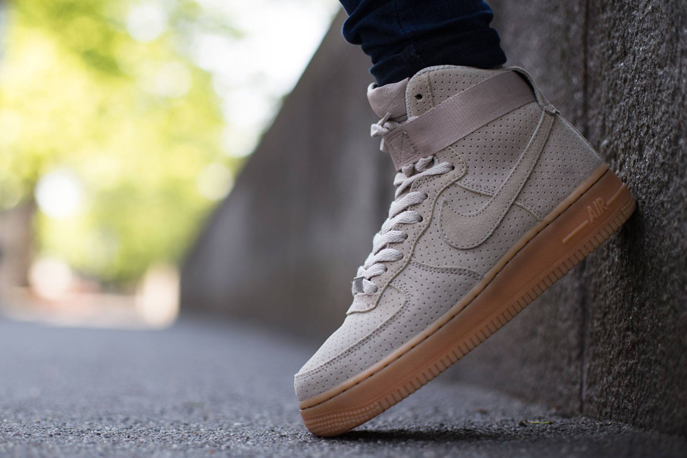 new style 0769b 71cef shop nike air force 1 high womens suede 6cccd 8cce4