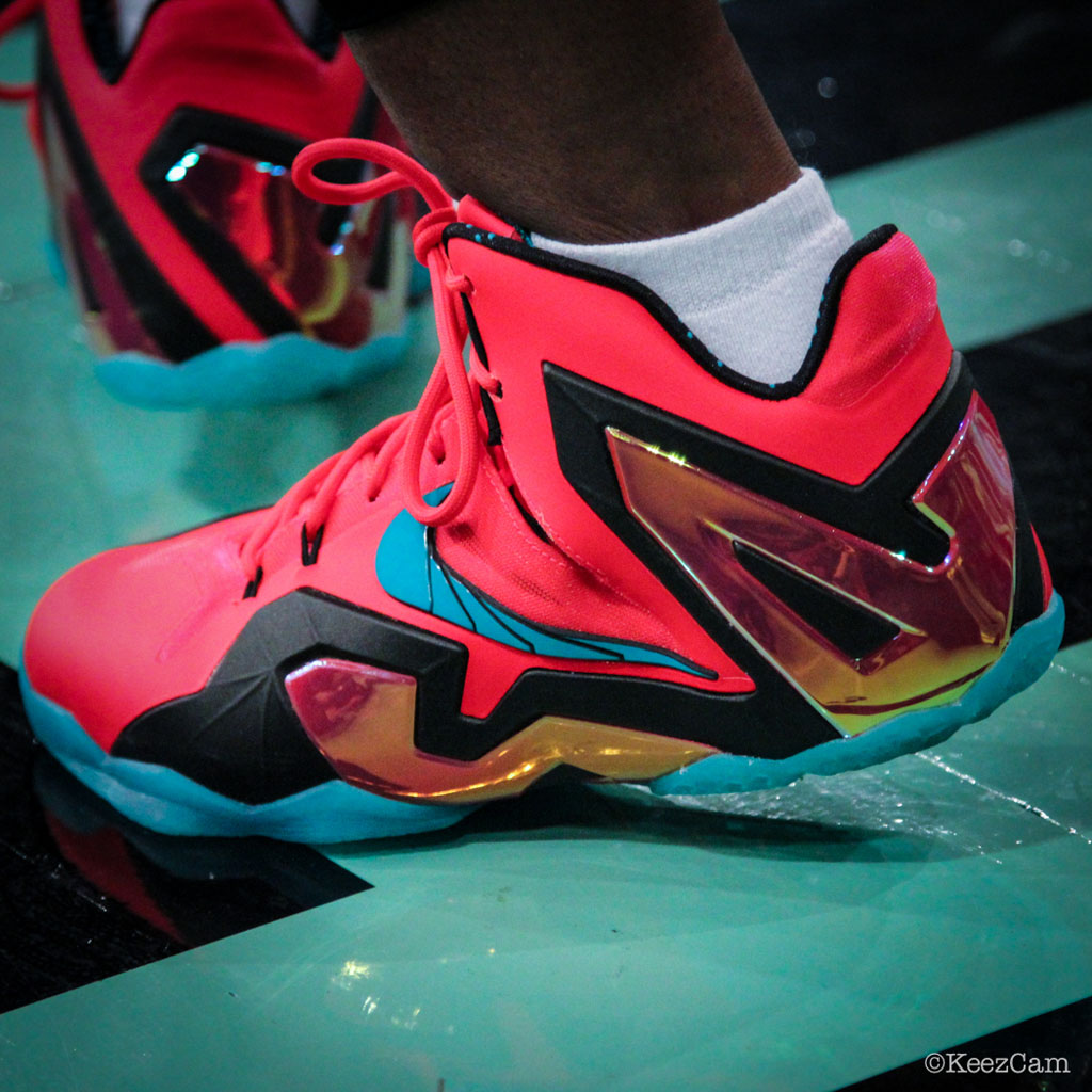Swin Cash wearing Nike LeBron XI 11 Elite Hero (3)