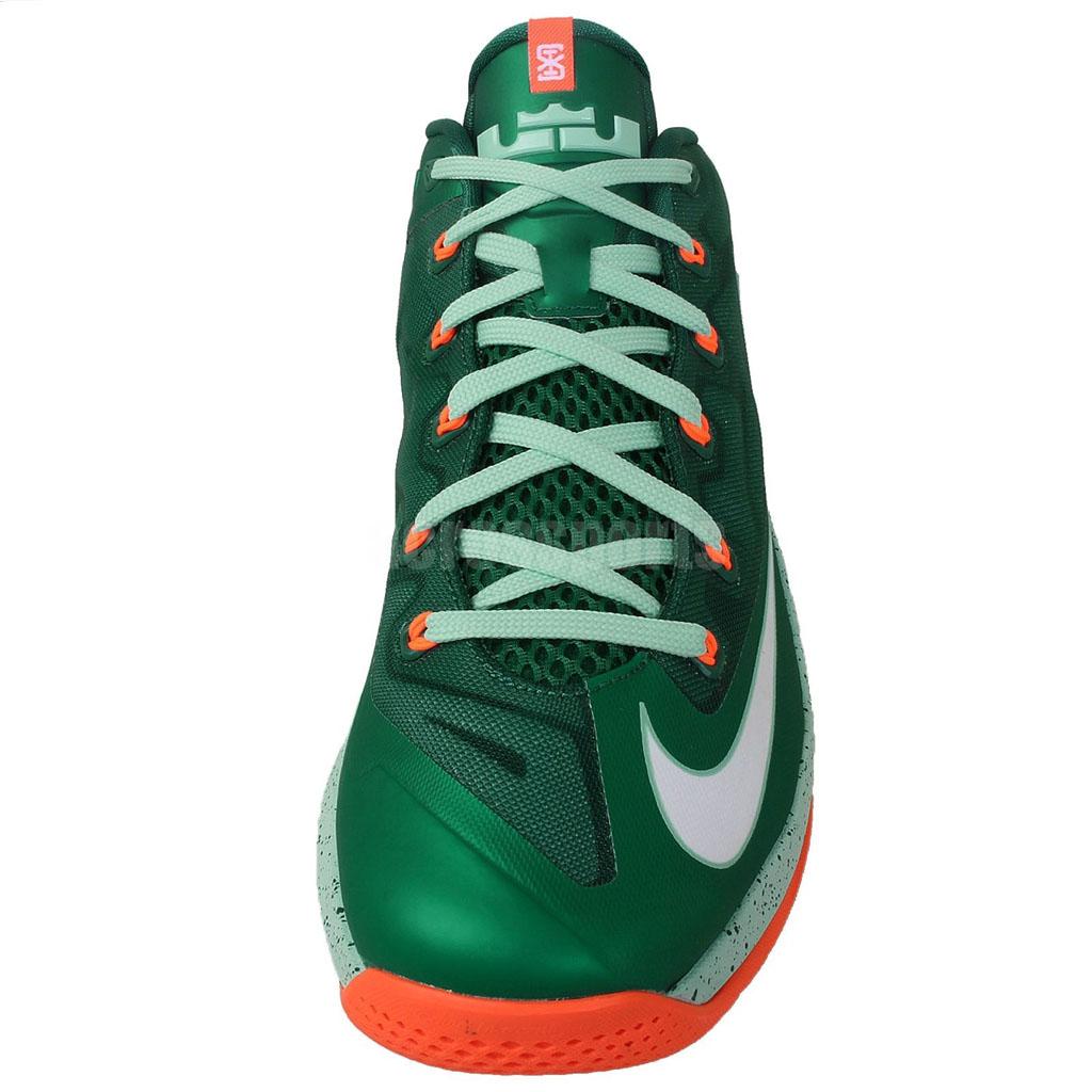 dabbd1aab272 Nike LeBron XI 11 Low Biscayne Mystic Green 642849-313 (3)