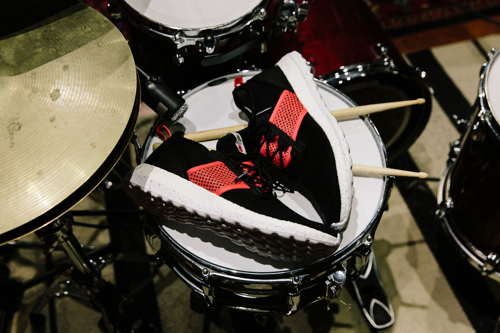 Livestock x adidas Consortium PureBOOST PK ZG Drums