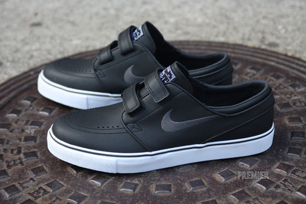 Previewed several times in the past, the velcro-strap edition of the Nike  SB Stefan Janoski is finally making it's way to retailers across the  country.