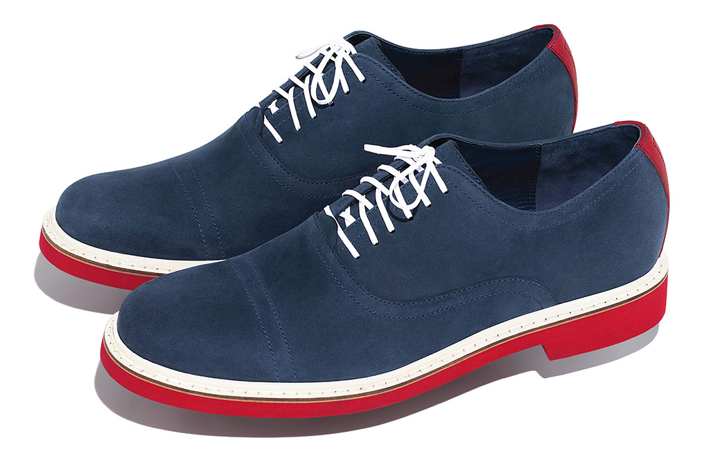 Cole Haan Independence Day 4th of July Collection 2012 - Harrison Oxford
