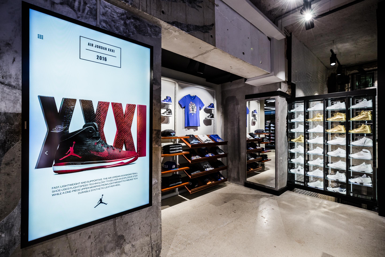 Michael Jordan Shoe Store In New York