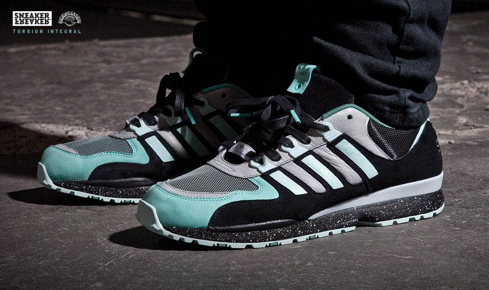 Sneaker Freaker x adidas Consortium Torsion Integral on-foot