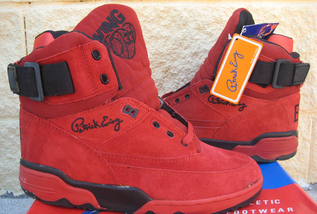 Ewing 33 Hi Red Black