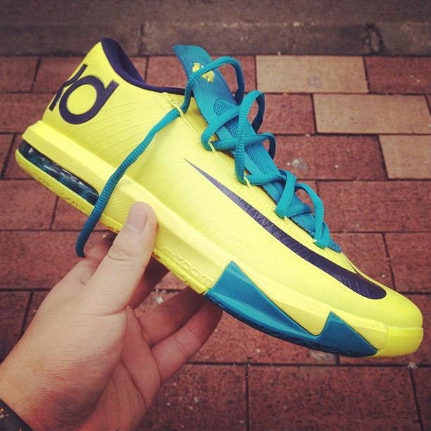 pretty nice 05b85 0309f Nike KD VI Yellow Teal Navy Release Date 599424-700 (1)