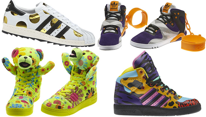 adidas Originals by Jeremy Scott Fall/Winter 2012 Footwear Collection