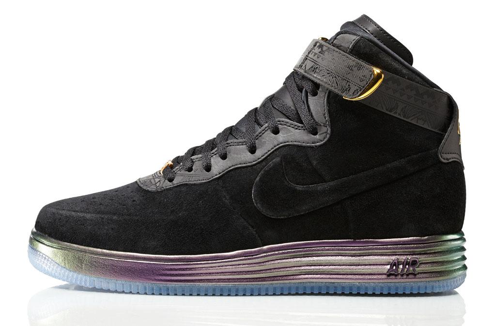 ddbd715dcee0 Jordan   Nike Sportswear Introduce Lifestyle BHM 2014 Collection - Nike  Lunar Air Force 1 Lux