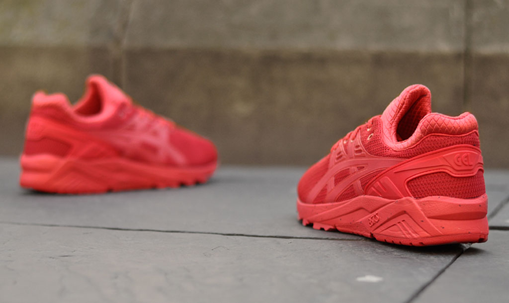 Asics Gel Kayano EVO Red Winter Tech (4)