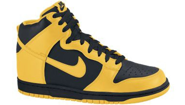 Nike Dunk High Black/Varsity Maize