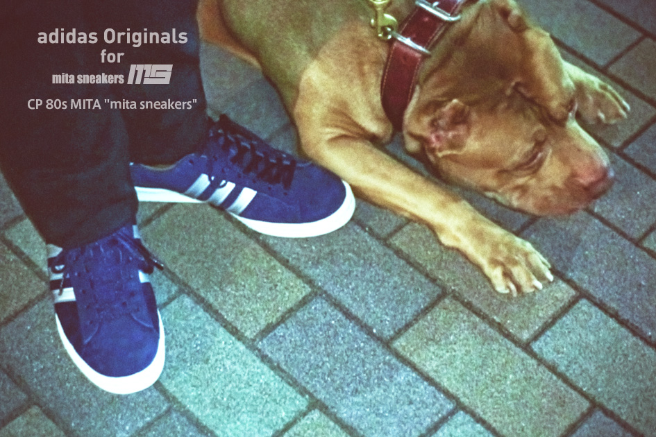 mita sneakers x adidas Originals Campus 80s navy silver