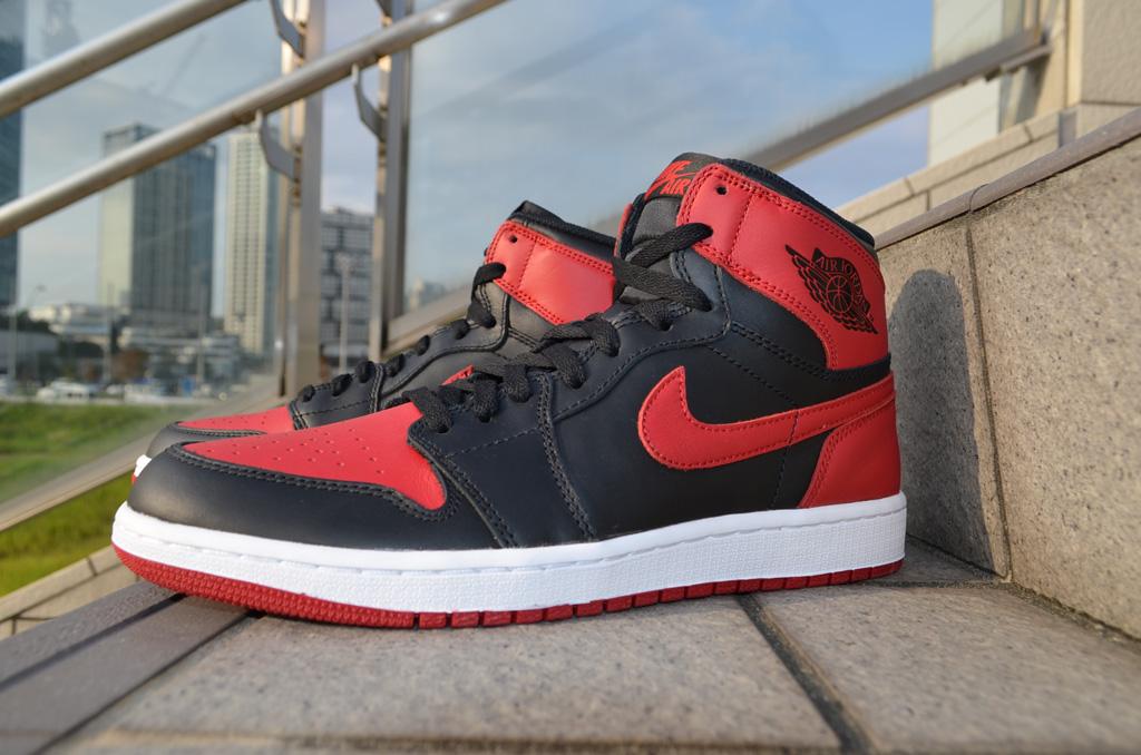 best authentic 15013 ff95d ... shopping air jordan 1 i retro black red 555088 023 4 fbf9e 0e1db