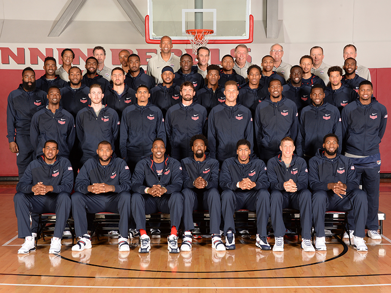 Team USA Basketball Select 2015
