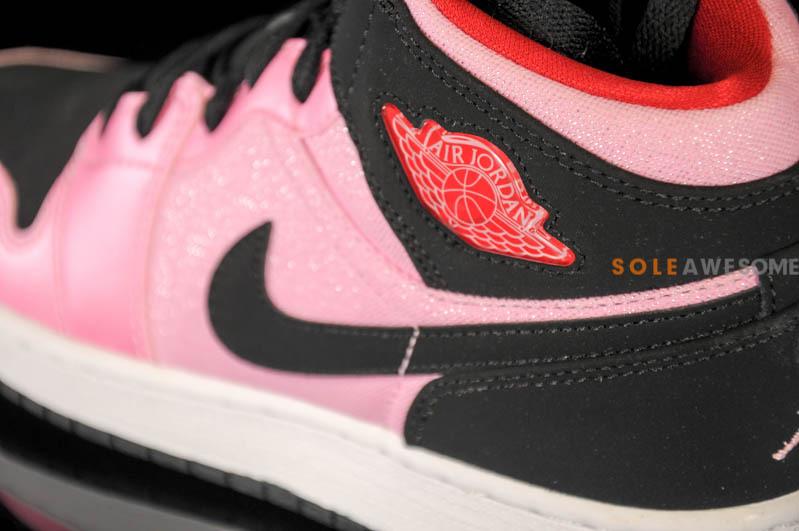 promo code 3caf3 c4941 Air Jordan 1 Retro Mid GS - Ion Pink