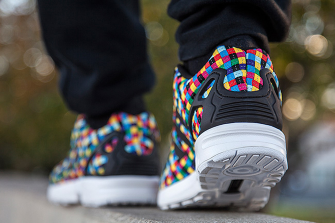 sports shoes 5b6c1 32398 Remember These 'Rainbow' adidas ZX Flux Wovens? | Sole Collector