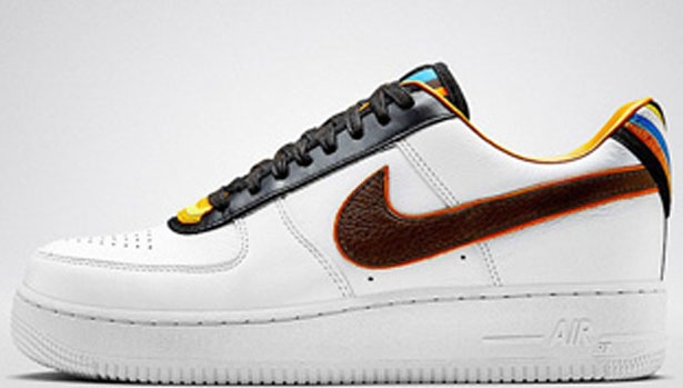 Nike Air Force 1 Low RT White/Black-Multi-Color