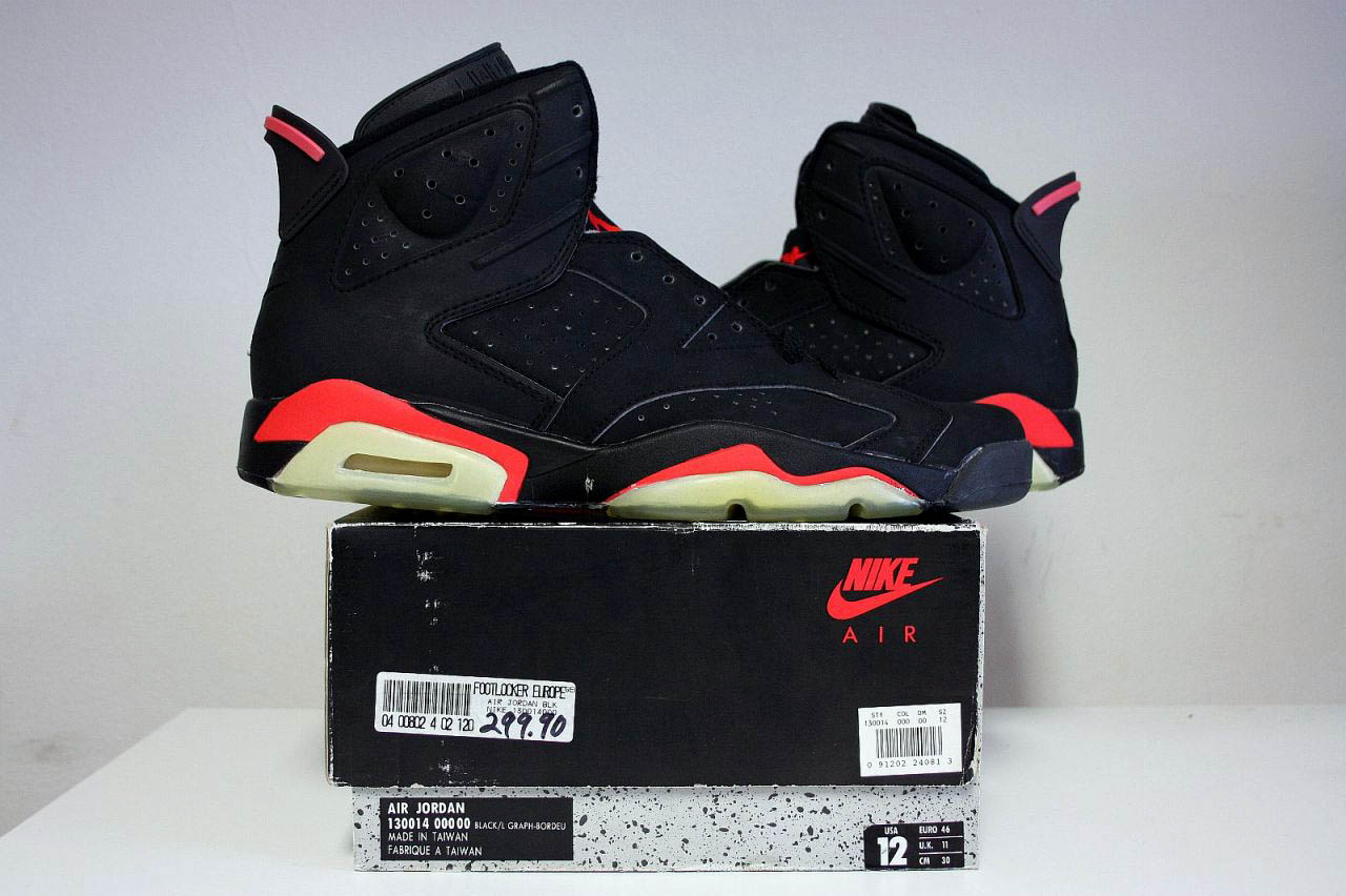 uk availability 83bb8 05cc5 italy jordan 6 og infrared original 47263 3daac