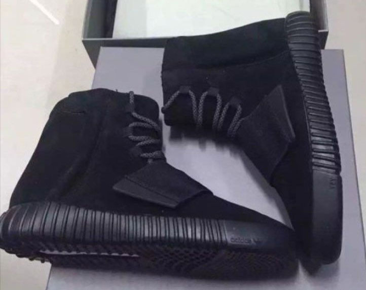 adidas Yeezy 750 Boost Black (4)