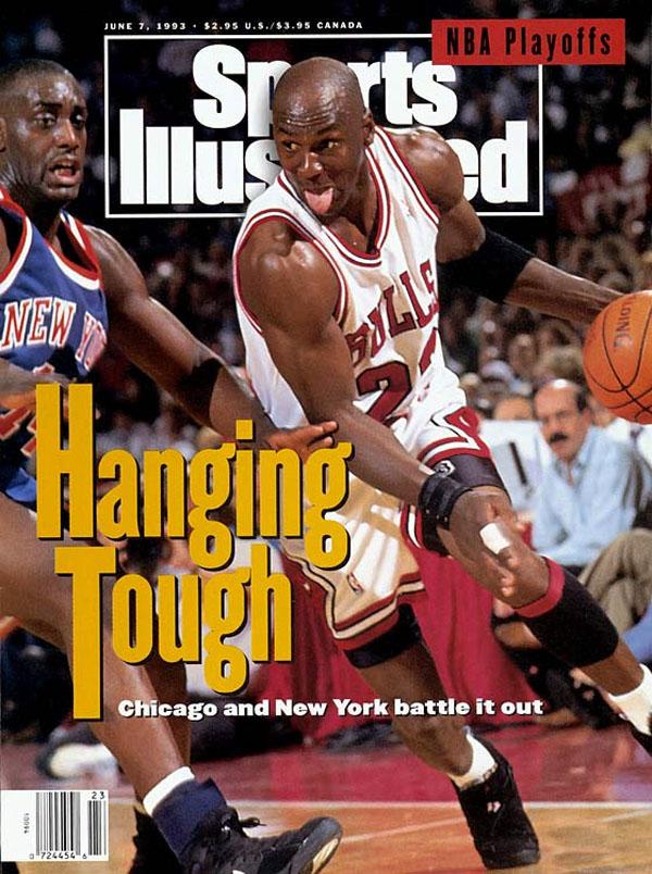 75d215f56bf17d Michael Jordan wears Air Jordan VIII 8 on June 1993 Sports Illustrated