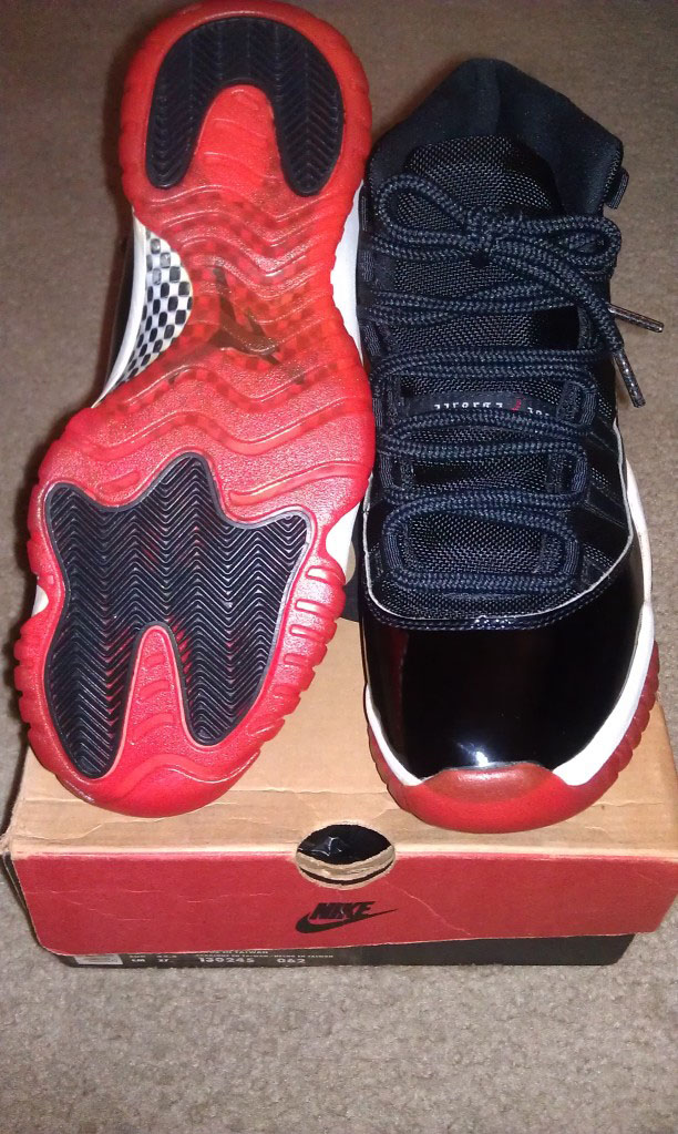 Spotlight // Pickups of the Week 9.22.12 - Air Jordan XI Black Red by eldercreekboy