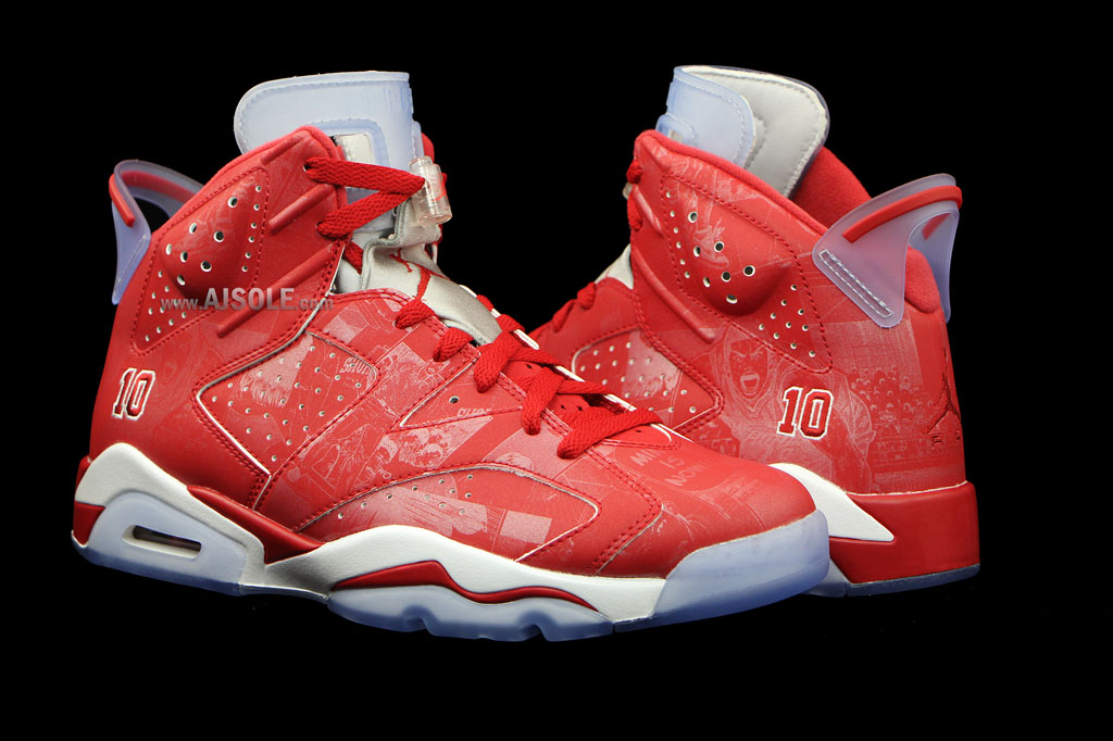 Air Jordan VI 6 Retro Slam Dunk Manga 717302-600 (5)