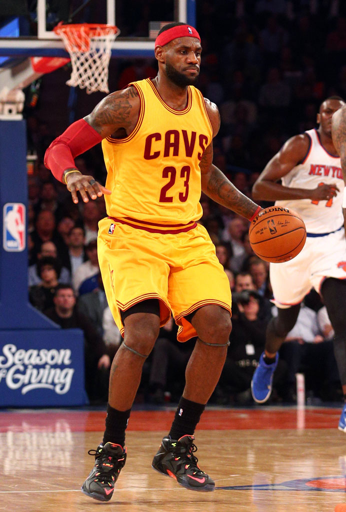 LeBron James wearing 'Data' Nike LeBron 12 (3)