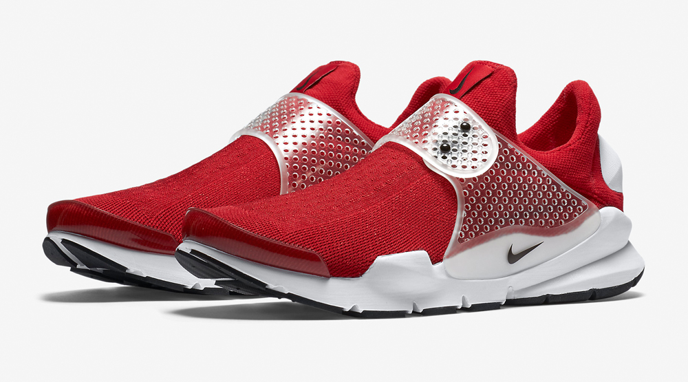 Nike Sock Dart Red White