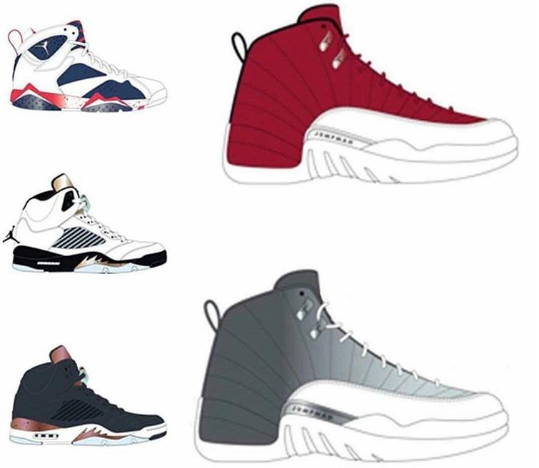 Air Jordan Retros Fall 2016