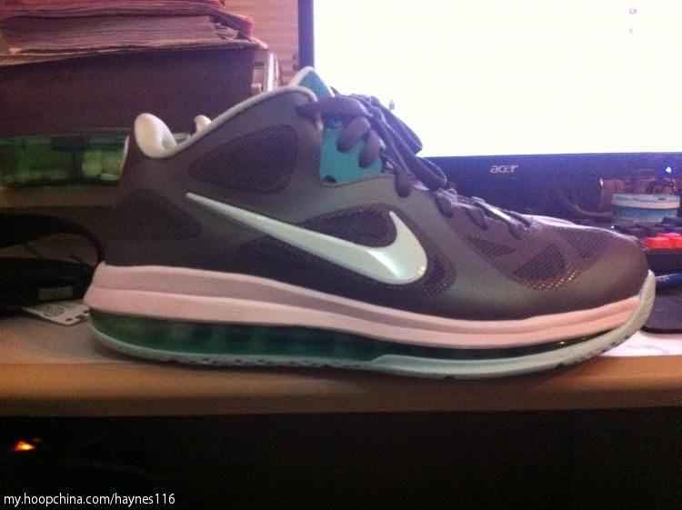 Nike LeBron 9 IX Low Easter Shoes Mint Candy 510811-001 (6)