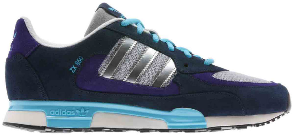 adidas Originals ZX850 Navy Purple Q22085