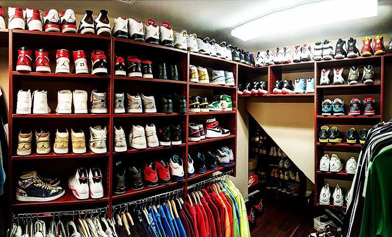 The 15 Best Celebrity Sneaker Closets  369012a56