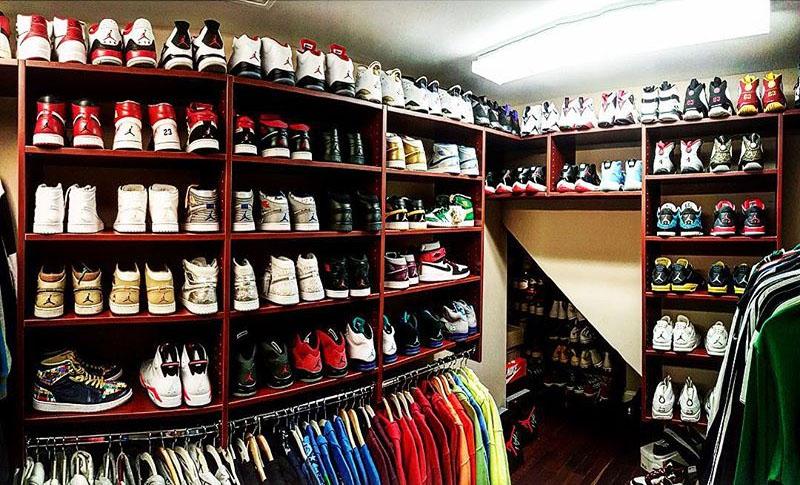 Genial Nick Cannonu0027s Sneaker Closet (1)