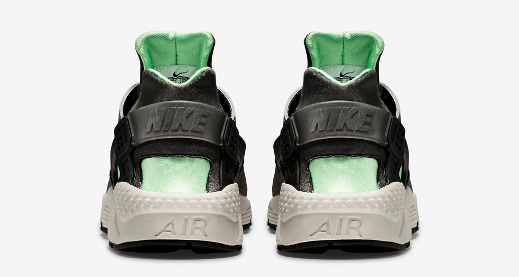 9543e03632226 The  Poison Green  Nike Air Huarache is available now at nike.com as well  as select Nike Sportswear retailers worldwide