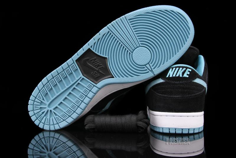 Nike SB Dunk Low Pro - Black   Clear Jade  20b8c0c575