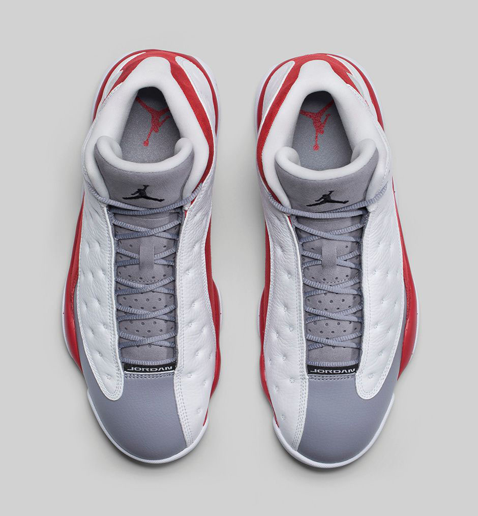 sports shoes a42db 3d695 ... discount code for 2014 air jordan xiii 13 retro mens shoes white grey  red 85c64 7c861
